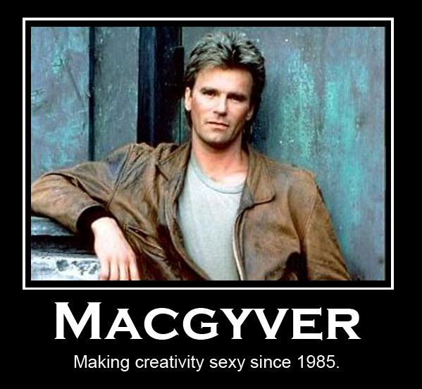 MacGyver dé creatieve denker