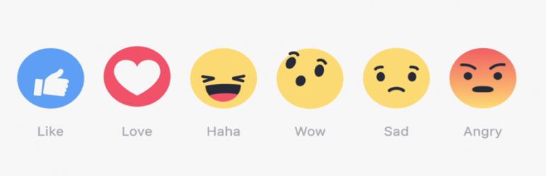 Facebook laat gebruikers emotie uitdrukken op iedere post