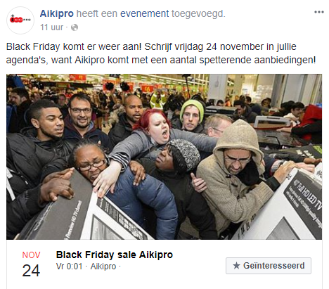 Black Friday Aikipro