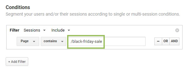 black friday analytics