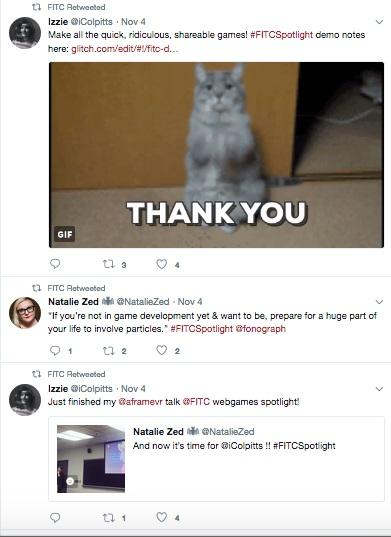 screenshot interactie twitter