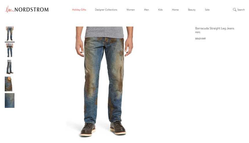 Nordstrom trok met een fictieve jeans wereldwijd honderden links aan.