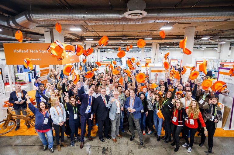 Alle Holland StartUp Pavilion startups bij CES 2018