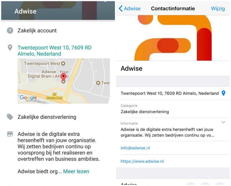 whatsapp business zakelijke informatie
