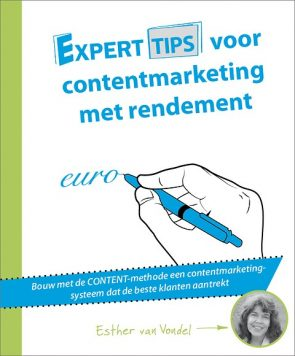 Boek Contentmarketing met rendement