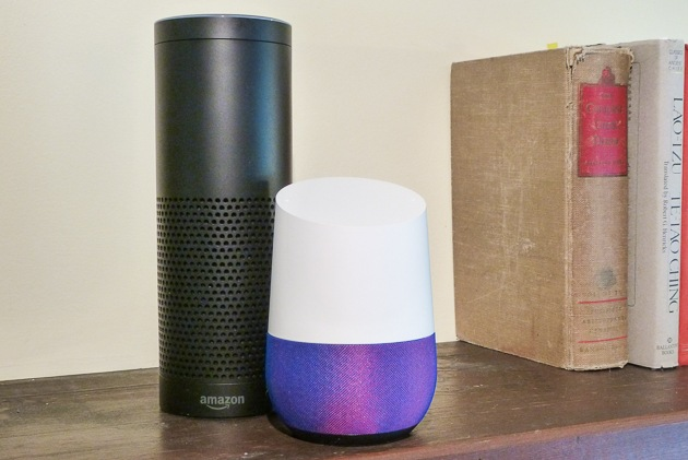 Google home en Amazon Echo