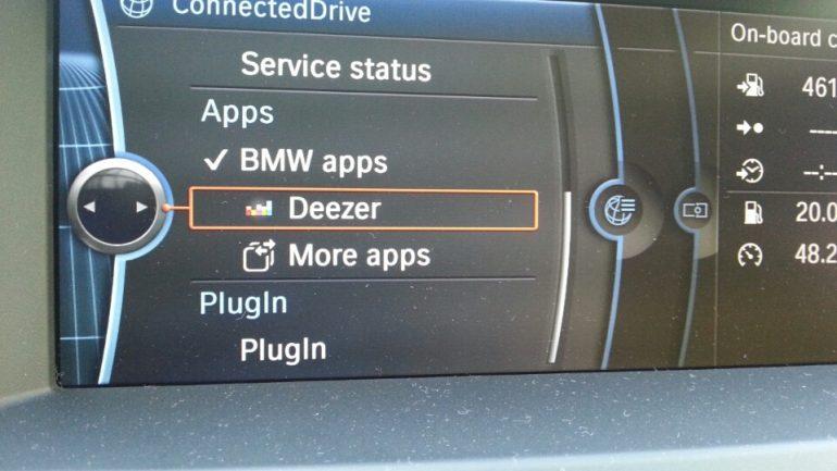 BMW en Deezer