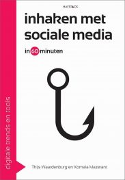 Boek cover Inhaken met sociale media