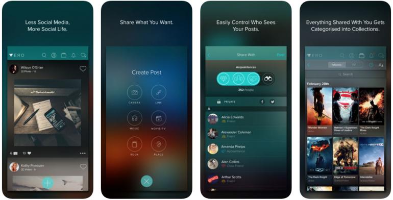 Vero app iOS bron itunes