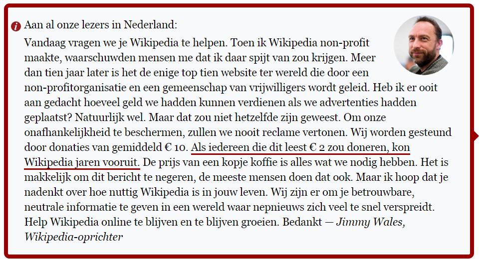 wikipedia negatieve sociale bewijslast