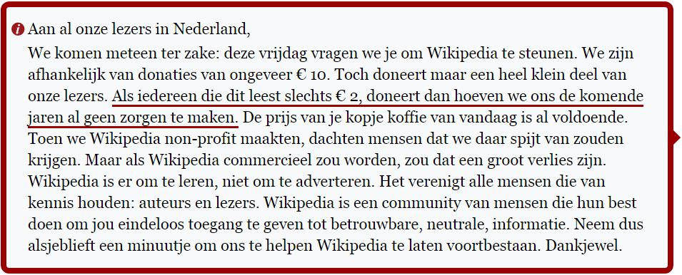 wikipedia negatieve sociale bewijskracht