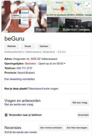 beGuru kennisvenster