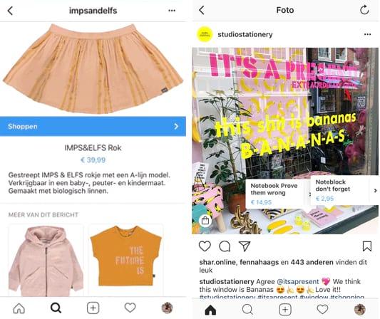 instagram-shopping-voorbeelden