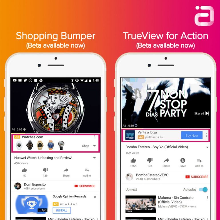 YouTube-For-Performance-TrueView-For-Action-Shopping-Bumper-Conversie-Button