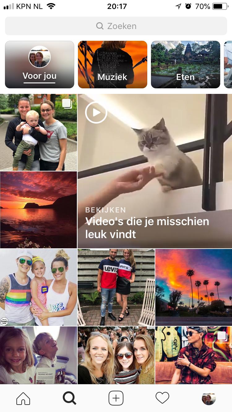 Instagram algoritme