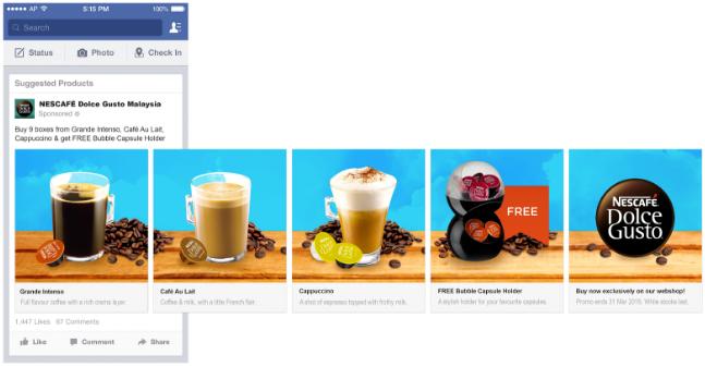LinkedIn Carrousel Ads voorbeeld