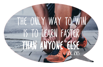 Brenda van den Berg - Blog - The only way to win is to learn faster