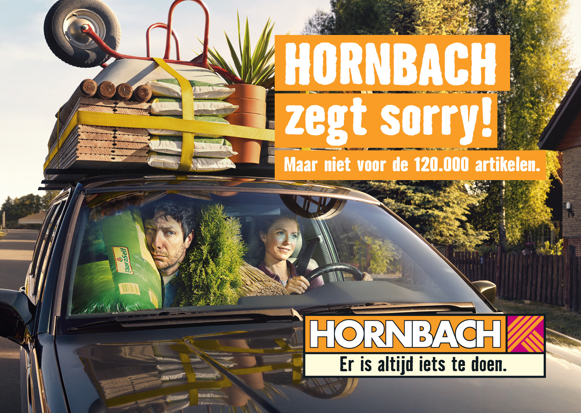 hornbach advertentie