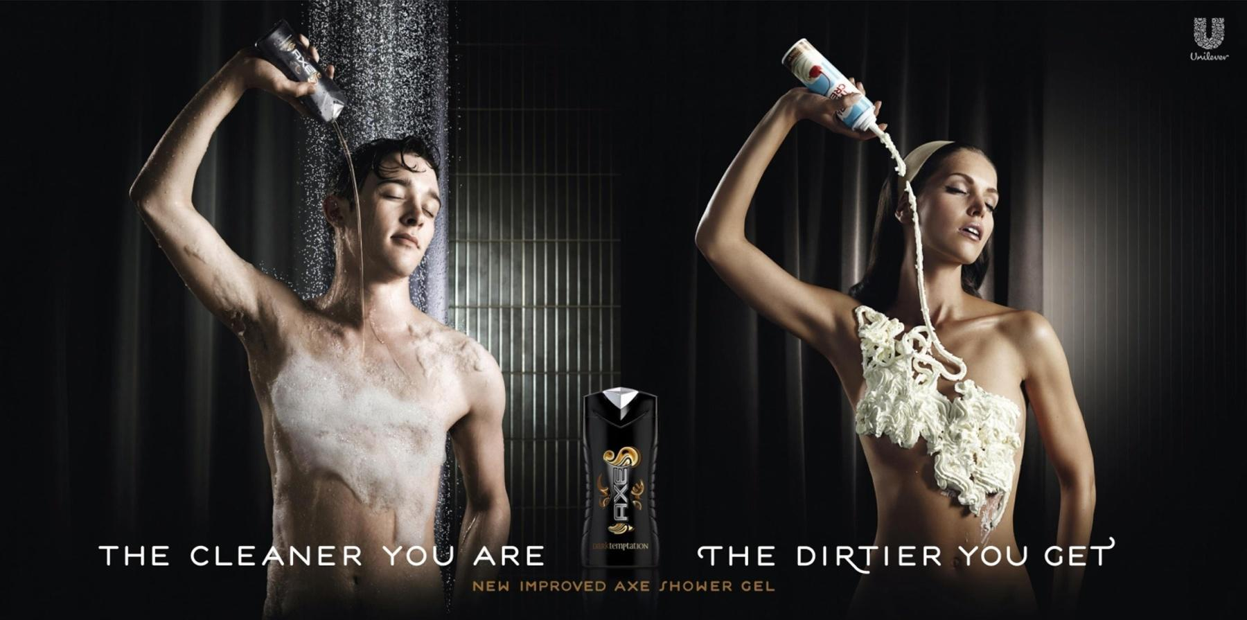 axe advertentie