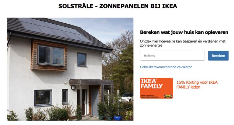 IKEA zonnepanelen