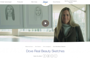 Dove real beauty sketches purpose marketing