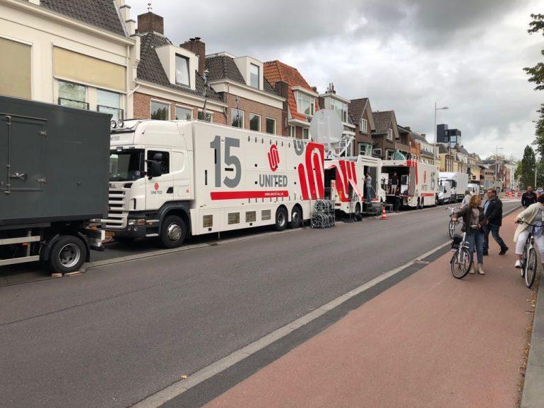 Maarten van der Weijden 11stedenzwemtocht regietrein