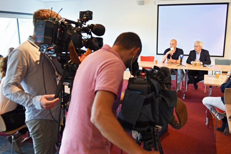 Maarten van der Weijden 11stedenzwemtocht persconferentie PR