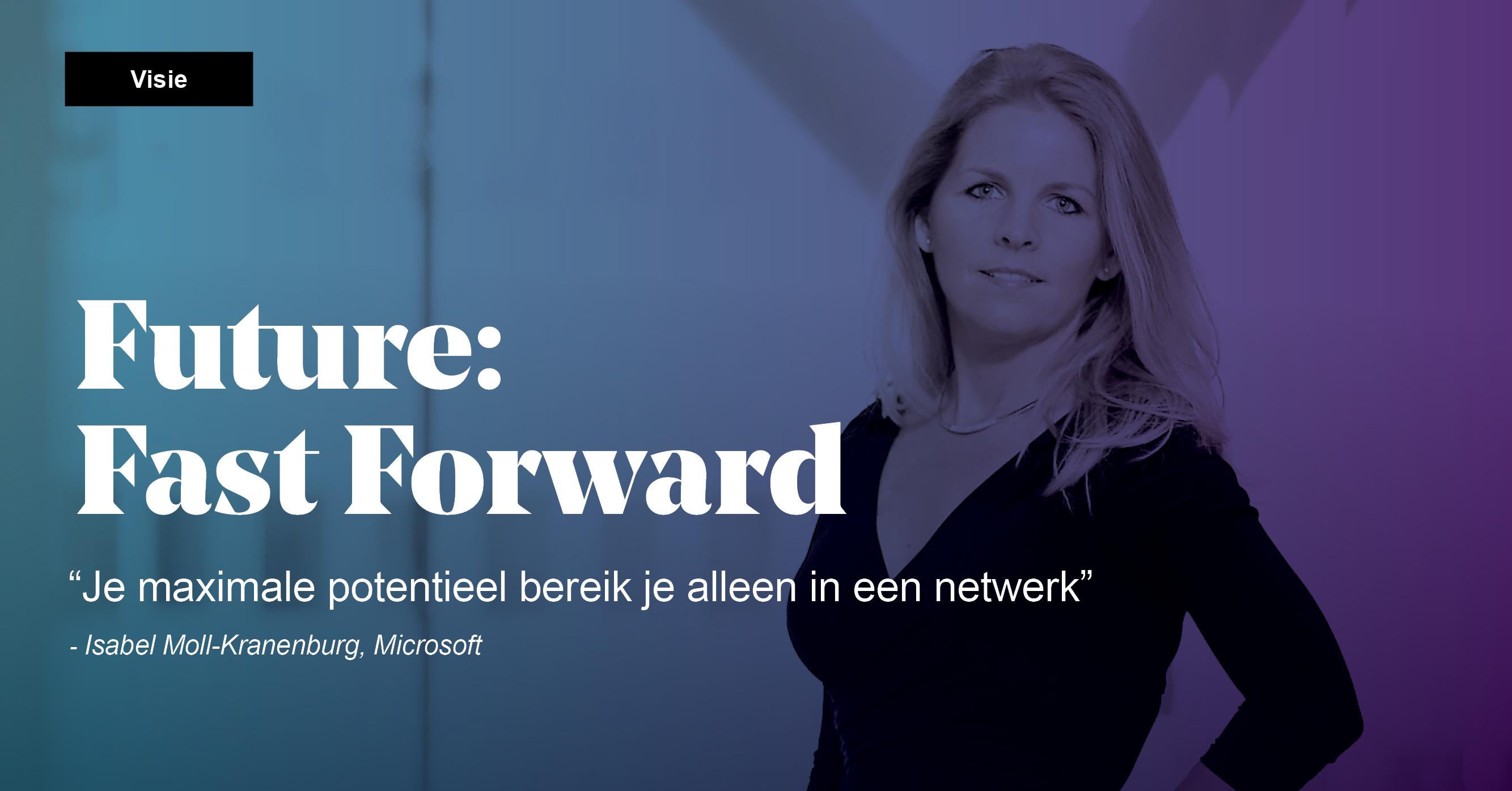De impact van innovatie de impact van technologie Isabel Moll Future Fast Forward Motion10