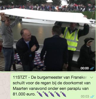 Maarten van der Weijden 11stedenzwemtocht Franeker WhatsApp