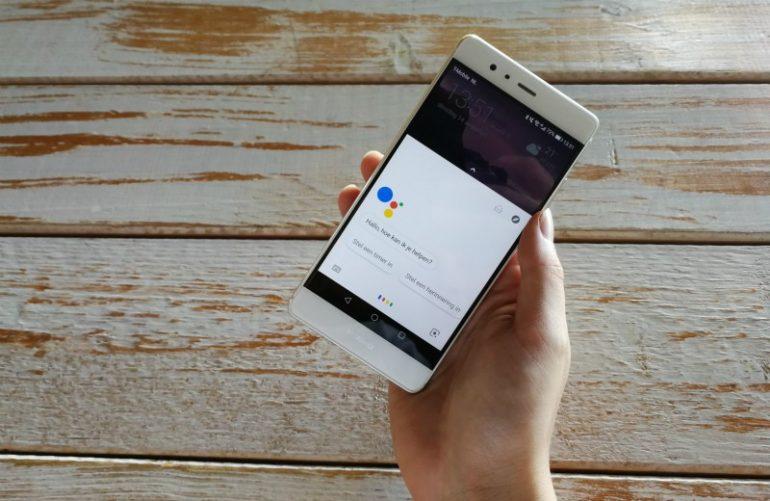 google assistent startscherm