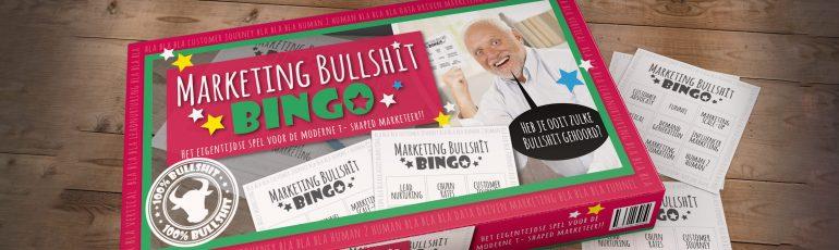 De Marketing Bullshit bingo header