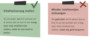 User experience in user stories voor een portaal