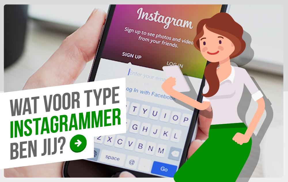 Wat voor type Instagrammer ben jij? Doe de quiz