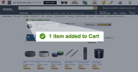 Visualisering Amazon
