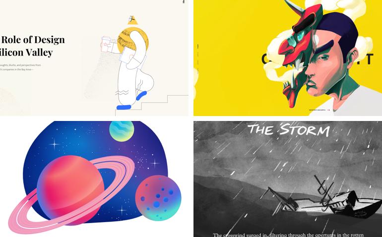trends webdesign 2019 kunstwerkplaatjes