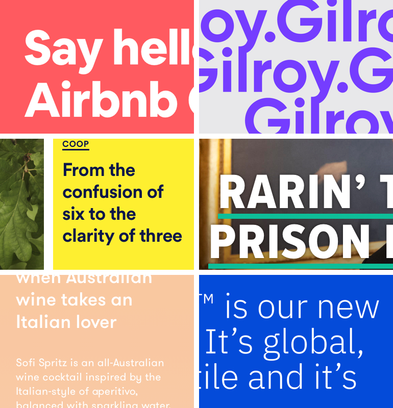 trends webdesign 2019 typografie
