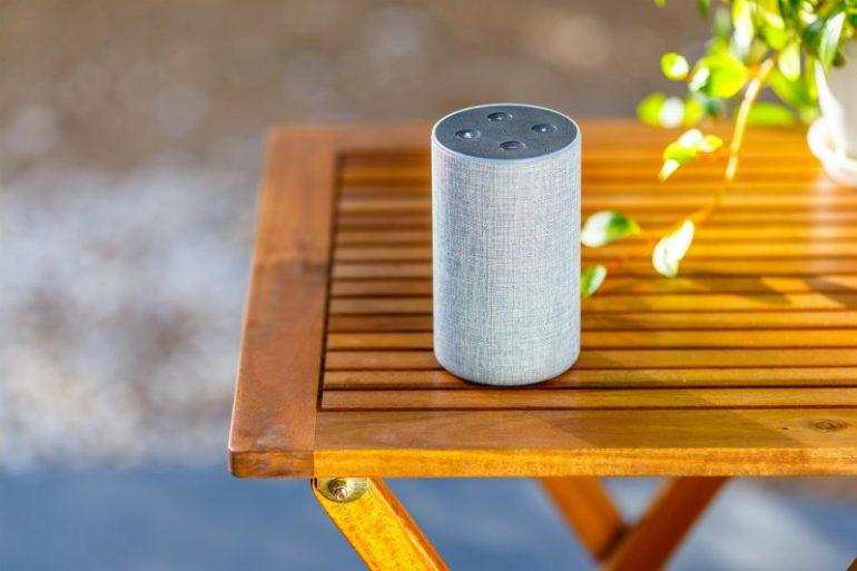 smart speaker buiten