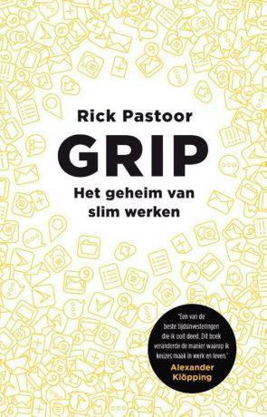 Boekcover Grip van Rick Pastoor.