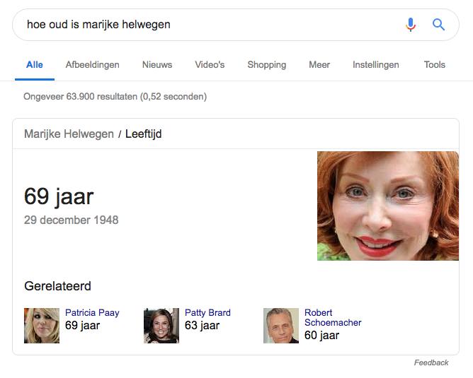 Google publiceert content, zonder de maker te noemen.