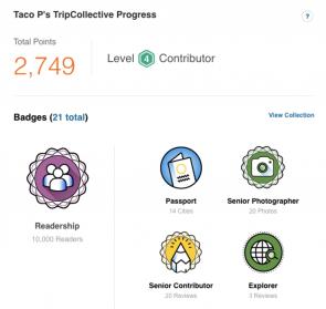 TripAdvisor beloningssysteem
