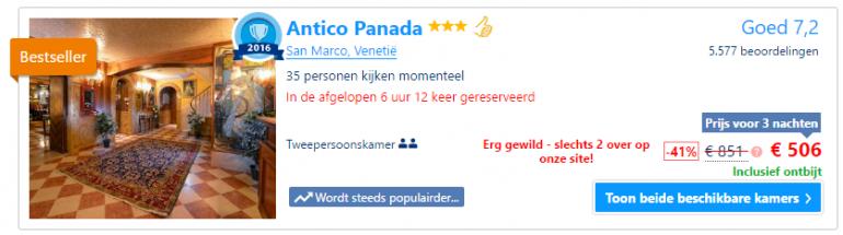 voorbeeld Booking.com