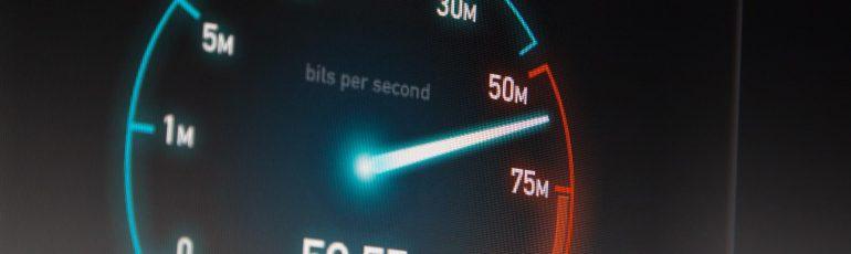 Snelheidsmeter page speed.