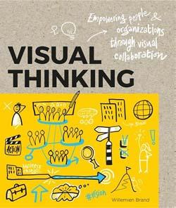 Boekomslag Visual thinking over visual storytelling.