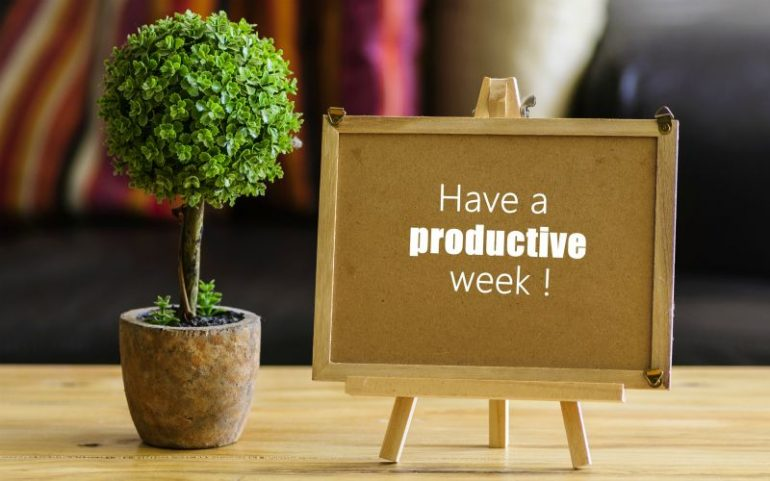 Have a productive week