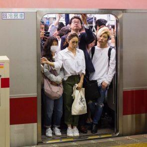 Volle metro