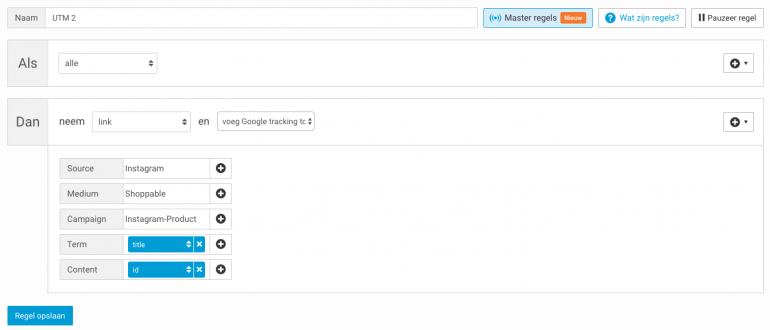 Instagram Product Tagging in Google Analytics