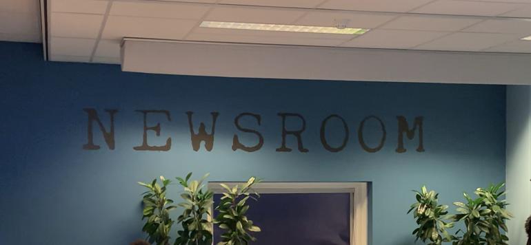 Foto van de newsroom van de gemeente Dordrecht.