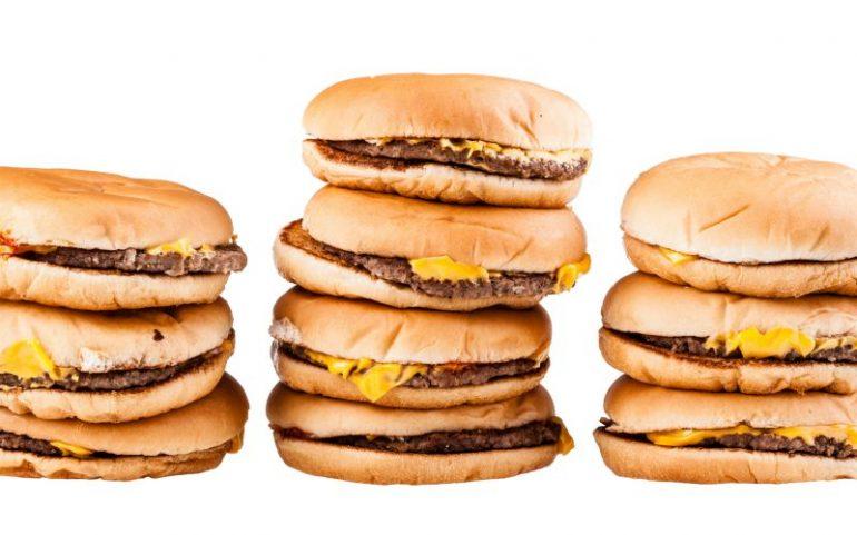 Stapels cheeseburgers