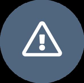 Een icon boven de opsomming met maatregelen voor een privacybewuste organisatie: herkennen van situaties en risico's.