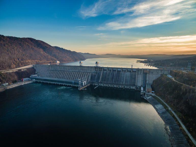 Waterkrachtcentrale voor blockchaintechnologie